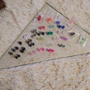 O gauge earrings